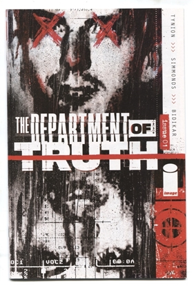 Picture of DEPARTMENT OF TRUTH #1 SECRET LEE HARVEY OSWALD VARIANT COVER NM
