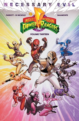 Picture of MIGHTY MORPHIN POWER RANGERS TP VOL 13