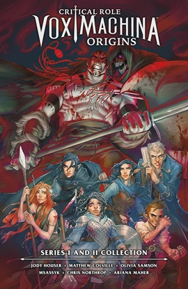 Picture of CRITICAL ROLE VOX MACHINA ORIGINS LIBRARY EDITION HC VOL 1
