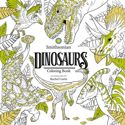 Picture of DINOSAURS SMITHSONIAN COLORING BOOK