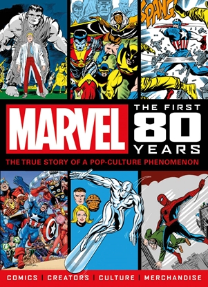 Picture of MARVEL COMICS FIRST 80 YEARS SC NEWSTAND