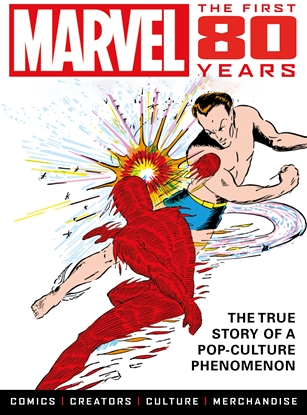 Picture of MARVEL COMICS FIRST 80 YEARS SC PREVIEWS EXCLUSIVE