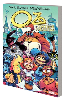 Picture of OZ COMPLETE COLLECTION GN TP ROAD TO EMERALD CITY