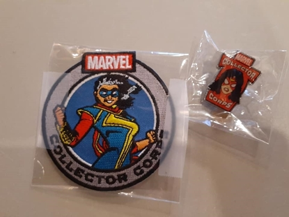 Picture of FUNKO MARVEL COLLECTOR CORPS WOMEN OF POWER PATCH & PIN SET