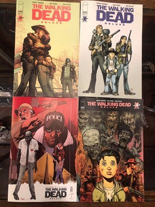 Picture of WALKING DEAD DELUXE #3 COVER A B C D SET