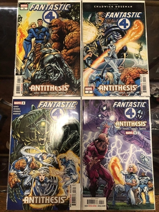 Picture of FANTASTIC FOUR ANTITHESIS #1 2 3 4 SET