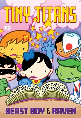 Picture of TINY TITANS BEAST BOY & RAVEN TP