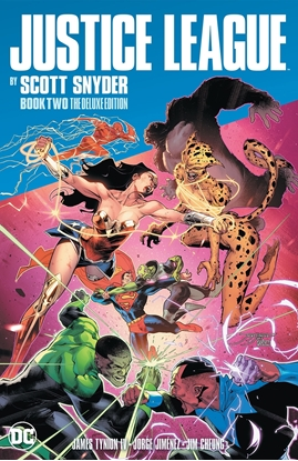 Picture of JUSTICE LEAGUE BY SCOTT SNYDER BOOK TWO DELUXE EDITION HC
