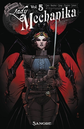Picture of LADY MECHANIKA OVERSIZED HC VOL 5