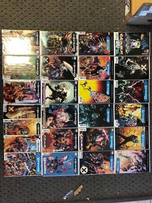 Picture of X-MEN X OF SWORDS PARTS 1-22 + EXTRAS + HANDBOOK
