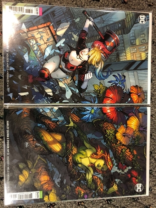 Picture of HARLEY QUINN & POISON IVY #3 COVER B & C DAVID FINCH VARIANT SET