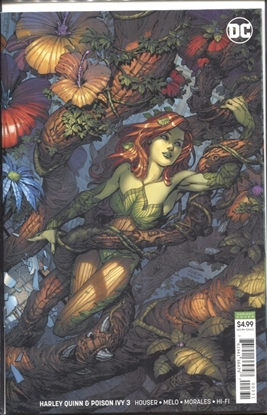 Picture of HARLEY QUINN & POISON IVY #3 (OF 6) CARD STOCK IVY VARIANT EDITION