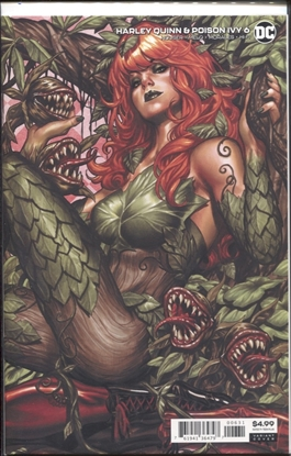 Picture of HARLEY QUINN & POISON IVY #6 (OF 6) CARD STOCK POISON IVY VARIANT