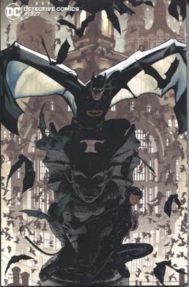 Picture of DETECTIVE COMICS #1027 CVR J ADAM HUGHES BATMAN CATWOMAN VARIANT