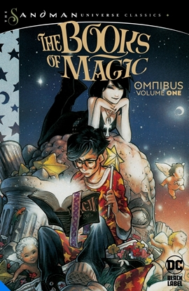 Picture of BOOKS OF MAGIC OMNIBUS VOL 1 HC