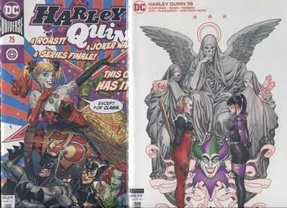 Picture of HARLEY QUINN (REBIRTH) #75 COVER A & B SET