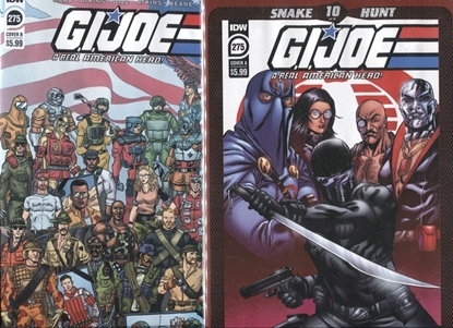 Picture of GI JOE A REAL AMERICAN HERO #275 COVER A & B ATKINS-SULLIVAN