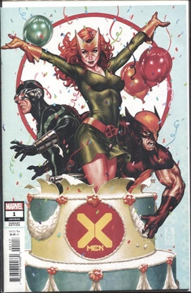 Picture of X-MEN #1 BROOKS PARTY VARIANT DX