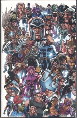 Picture of X-MEN #1 BAGLEY EVERY MUTANT EVERY MUTANT VARIANT DX
