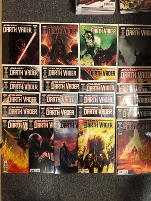 Picture of STAR WARS DARTH VADER (2017) #1-25 SET