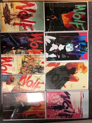 Picture of WOLF #1-9 IMAGE COMICS