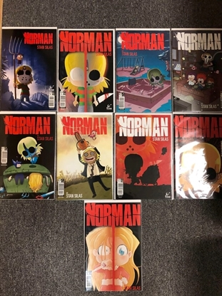 Picture of NORMAN VOL 1 #1-5 VOL 2 #2.1 2.2 2.3 2.4