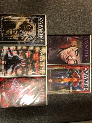 Picture of VAMPIRE THE MASQUERADE #1 2 3 4 5 1ST PRINT SET