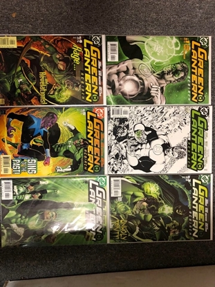 Picture of GREEN LANTERN REBIRTH (2004) #1 4TH #2 2ND #3 4 5 6