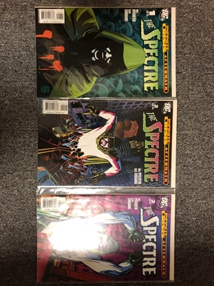 Picture of INFINITY CRISIS AFTERMATH: THE SPECTRE #1 2 3 / PFEIFER-CHIANG / NM