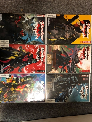 Picture of THE SHADOW / BATMAN #1A 2A 3C 4A 5A 6A / DYNAMITE-DC CROSSOVER NM