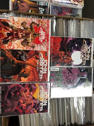 Picture of JOHN CARTER THE END #1 2 3 4 5 / DYNAMITE / BRIAN WOOD NM SET