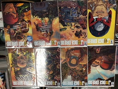 Picture of JUDGE DREDD BLESSED EARTH #1-8 SET