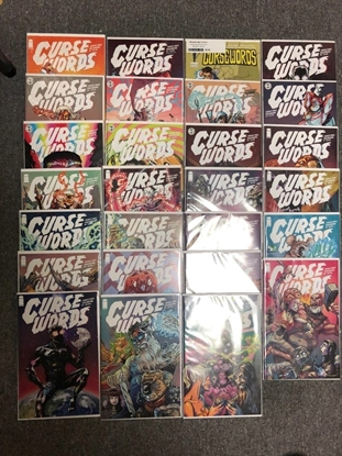 Picture of CURSE WORDS #1-25 + HOLIDAY SPECIAL / FULL SET