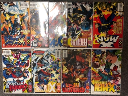 Picture of AGE OF APOCALYPSE #1 9 ISSUE SET X-MAN WEAPON X + MORE