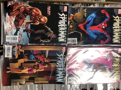 "Picture of AMAZING SPIDER-MAN #515 516 517 518 ""SKIN DEEP"" SET"