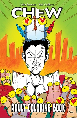 Picture of CHEW ADULT COLORING BOOK TP (MR)
