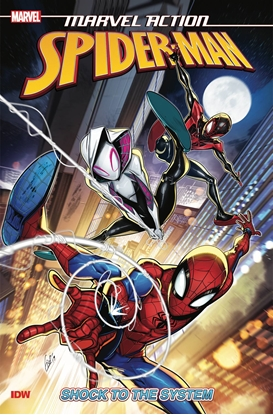 Picture of MARVEL ACTION SPIDER-MAN SHOCK TO THE SYSTEM TP