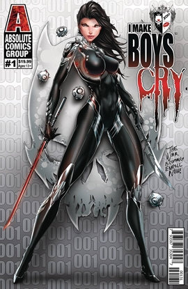 Picture of I MAKE BOYS CRY #1 COVER C TYNDALL WRAPAROUND LENTICULAR
