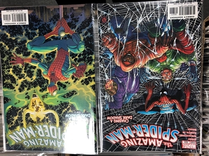 Picture of AMAZING SPIDER-MAN #504 + 504 / CHASING A DARK SHADOW SET NM