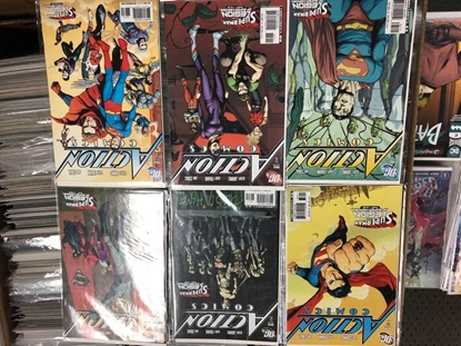 Picture of ACTION COMICS #858 859 860 861 862 863 / SUPERMAN & THE LOSH SET