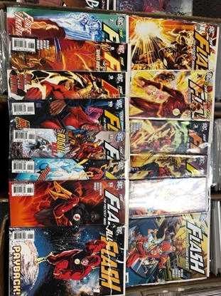 Picture of FLASH FASTEST MAN ALIVE (2006) #1-13 + ALL FLASH #1 VARIANT