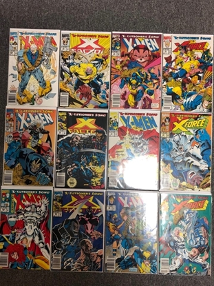 Picture of X-MEN X-CUTIONER'S SONG PART 1-12 NEWSSTAND SET VF/NM