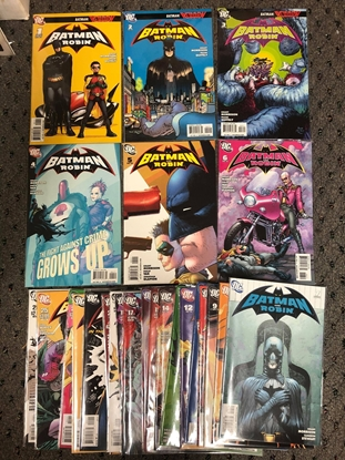 Picture of BATMAN AND ROBIN (2009) #1-26