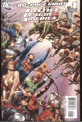 Picture of JUSTICE LEAGUE OF AMERICA (2009) 80-PAGE GIANT #1 9.2 NM-