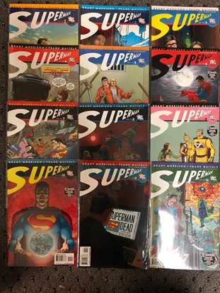 Picture of ALL STAR SUPERMAN #1-12 1ST PRINT SET / GRANT MORRISON-QUITELY
