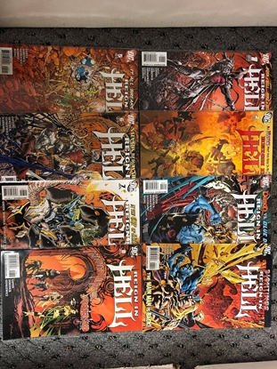 Picture of REIGN IN HELL (2008) #1 2 3 4 5 6 7 8 / KEITH GIFFEN-SIENKIEWICZ NM SET