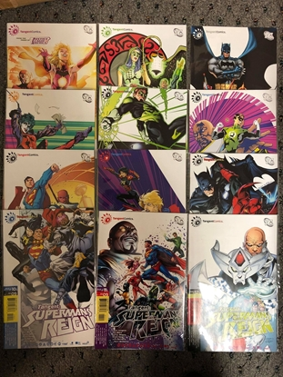 Picture of TANGENT: SUPERMAN'S REIGN #1-12 / DAN JURGENS-RON MARZ NM SET