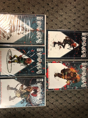 Picture of MOUNTAINHEAD #1 2 3 4 5 / 1ST PRINT SET / JOHN LEES / IDW NM