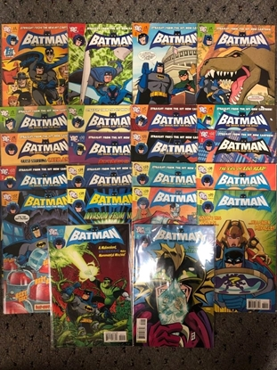 Picture of BATMAN BRAVE AND THE BOLD 2009 #1-22 CARTOON / COMPLETE SET NM