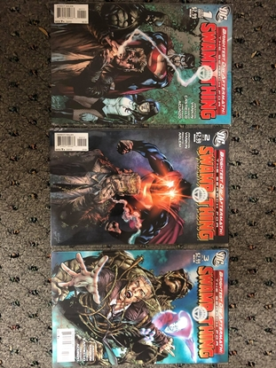 Picture of BRIGHTEST DAY AFTERMATH: THE SEARCH FOR SWAMP THING #1 2 3 / NM SET 2011